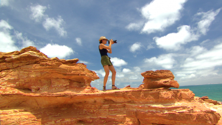 Daniela Federici in Broome, Australia - Ganthaeume Point, Episode 9