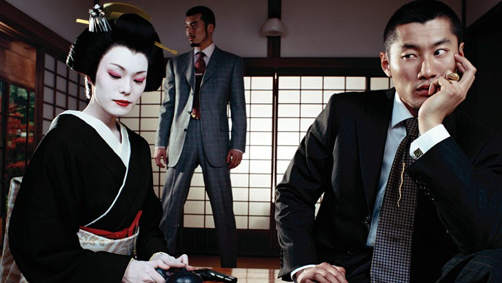 Daniela Federici GQ Yakusa Tokyo